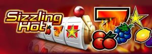 the Sizzling Hot logo